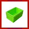 330 Top Quality Storage Plastic Stacking Foldable Crate