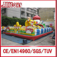 giant interesting inflatable fun city swing park game machine amusement