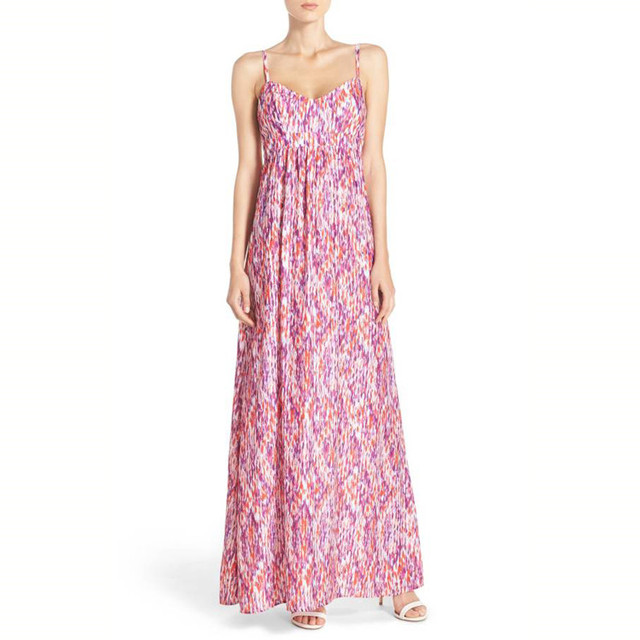 Long Beach Dresses Ruffle Raglan Strapless Maxi Boho Strap Cheap Floral Women Dress