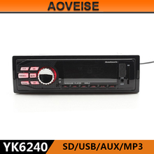 AOVEISE YK6240 sport mp3 music manual car usb adapter mp3 aux universal car audio player