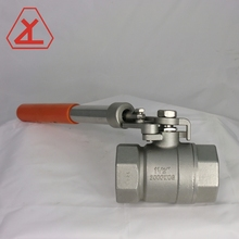 Made in Taiwan 2 pcs 2000 psi spring return handle npt ball valve