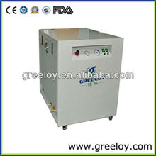 Shanghai Greeloy Portable Silent Oil Free Small Mini Air Compressor With Cabinet