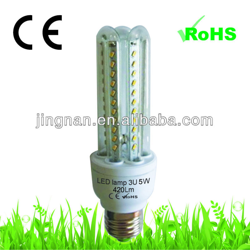 3u cfl shape tube light LED lamps led light for home