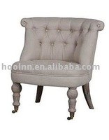 French Tufted Leisure Chair with hand crafted S1067