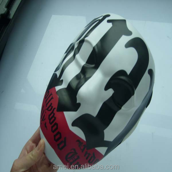 customized thick sheet vacuum formed PC plastic mask
