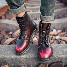 Guangzhou Women Shoe Factory Winter Lady Leather lace up Heel Ankle Boots