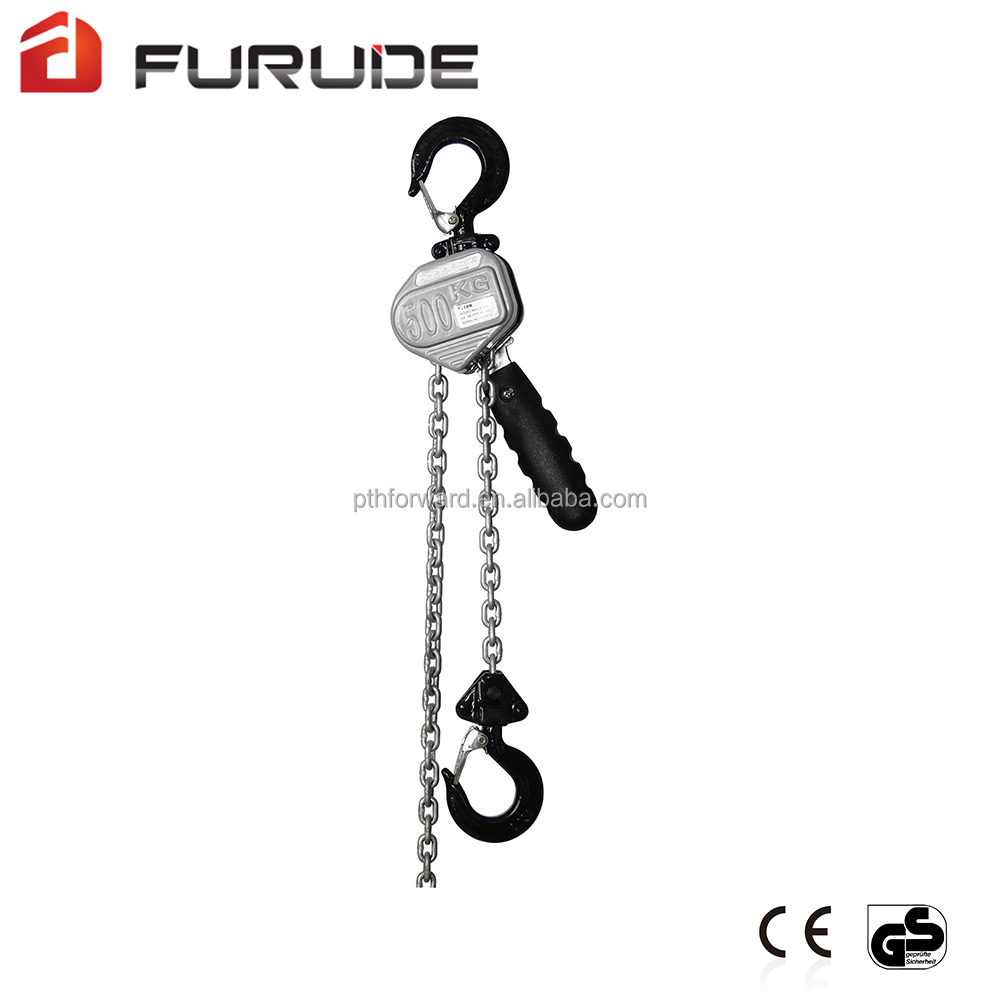 Low price marine cargo block lever hoist with chain