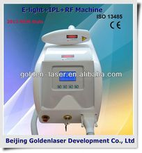 2013 New Design Multi-Functional Beauty Equipment E-light+IPL+RF machine belly fat burning device