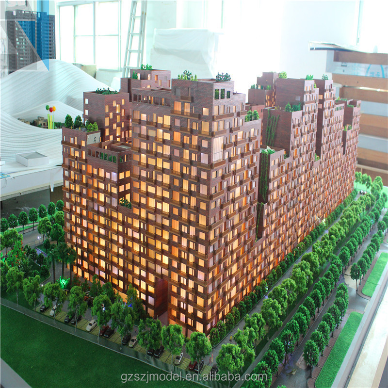 Local Feature Architectural Models For Sale Estate House