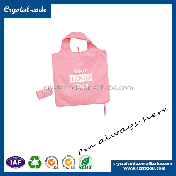 Newly Update Foldable Reusable Shopping Bag Nylon Shopping Bag