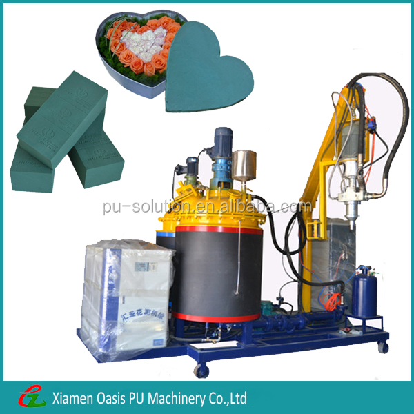 The whole automatic polyurethane floral foam production line