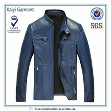 Costume genuine leather motorcycle leather jackets for men