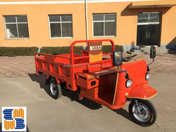 2016 new model TEB-65 60v 1300w electric cargo tricycle with wagon best selling