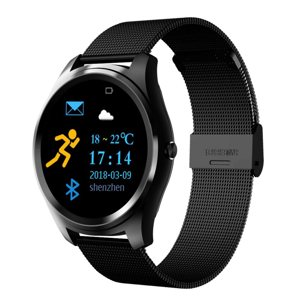 Hotsale 1.3 inch IPS screen smart bracelet Heart rate blood pressure bluetooth <strong>camera</strong> message notifications smart watch for IOS