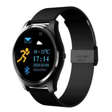 Hotsale 1.3 inch IPS <strong>screen</strong> smart bracelet Heart rate blood pressure bluetooth camera message notifications smart watch for IOS
