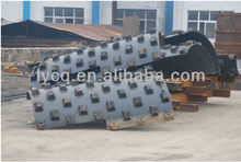 BOMAG BW213 pad foot for road roller spare parts
