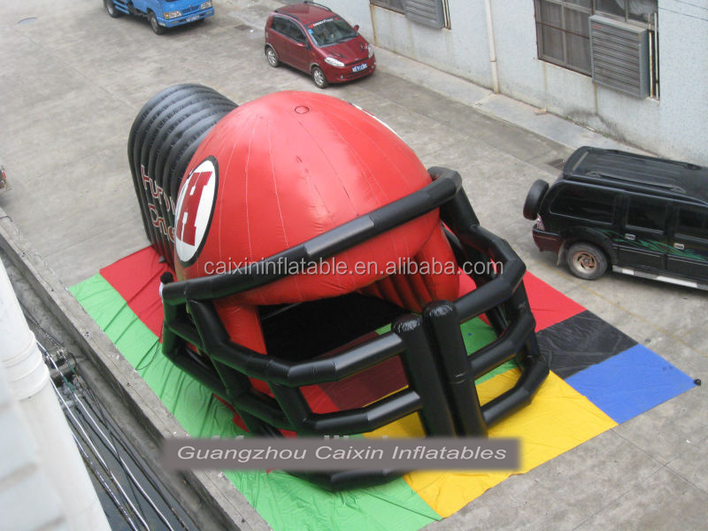 Football Tunnel/Football Tunnel Tent Inflatables, inflatable event dome tents