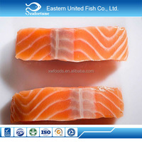 IQF wholesale health high quality wild alaska frozen fish portion chum salmon