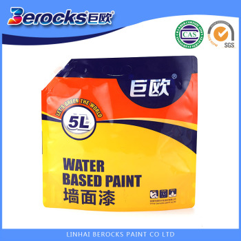 5L New Packing White liquid finish paint, Asian Best exterior wall paints