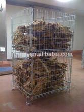 Food stacking storage mesh basket reliable