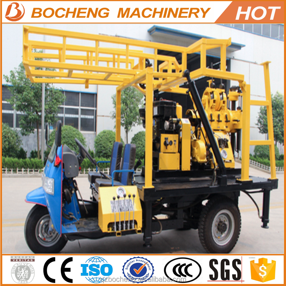drilling water/ one man water well drilling/ top drive head portable water well drilling rig