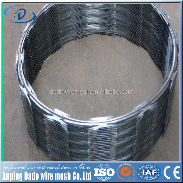 Cheap Price Security Fencing razor barbed wire (bulk barbed wire) price razor barbed wire/stainless steel flexible razor