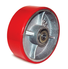 Customized Poly Urethane on Cast Iron Core Wheels at low price