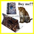 For Apple iPad Mini 1/2 360 roataing leopard pattern Leather Case ,auto sleep wake function for ipad mini 1/2