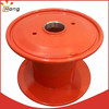 steel reel double layer bobbin for high speed cable machinery
