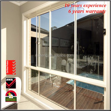 Thermal Aluminium Window Finished Surface Horizontal Sliding Open Interior Insulated Glass UPVC Windows Price