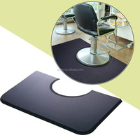 baber salon round rubber gel foam floor mat