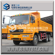 Hualing CAMC 6X4 heavy duty tipper dump truck for sale