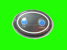 Two Key Call Bell Table Button, CALL CANCEL Button, Wireless Calling System
