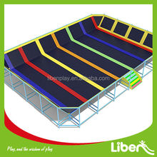 cheap big rectangular indoor trampoline for sale CE LE.BC.050