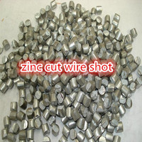 china competitivie price zinc cut wire shot /stainless steel cut wire shot