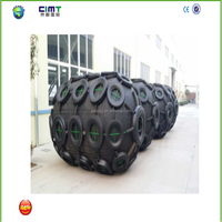 factory price pneumaticmarine rubber fender with Galvanized Chain and Tyre made in china