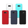 2017 Hot selling professional ultra thin liquid silicon case for Samsung galaxy