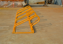 High Quality 5 Bike Standing Rack In Public , Galvanized Bicycle Parking Stand, Bike Bicycle Floor Parking Rack Storage