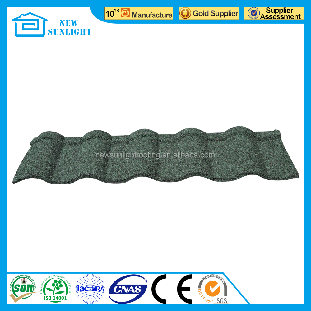 2016 hot products stone coated corrugated steel roofing sheet