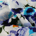 17*21 digital printed linen fabric,linen fashion fabric for women's dress,100% linen fabric