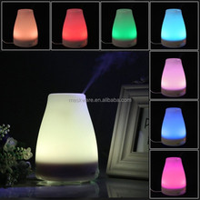 Ultrasonic essential oil diffuser scent diffuser with 7 colorful led light