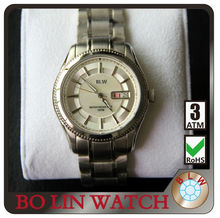 automatic watch,solid 316 stainless steel/japan or swiss movement/sapphire glass/men