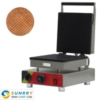 Newly Square Style Ice Cream Waffle Cone Maker Machine With The Best Price (SUNRRY SY-KB30B)