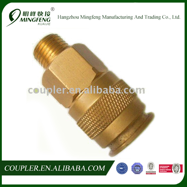 Best Selling Professional High Quality Brass Euro Quick Coupler