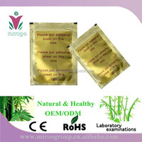 Gold bamboo foot patch, indonesia detox foot patches