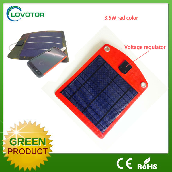 Solar charger for mobile phone USB port charger Folding Solar panel charger