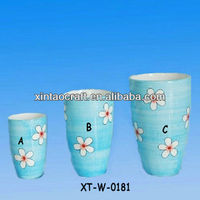 ceramic home decoration flower vase