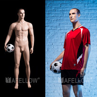 male sport mannequin football mannequin