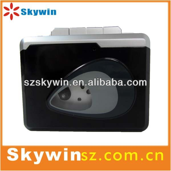 2014 portable newest USB walkman radio cassette recorder player