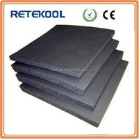 Flexible foam Black rubber insulation sheet